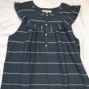 Loft women's sleeveless blouse size large